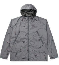 Mark McNairy for Heather Grey Wall Grey AK47 Hooded Jacket Picutre