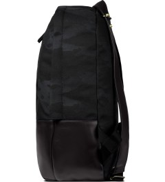 HAERFEST Black Shell Backpack Model Picutre
