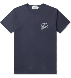 Medicom Toy Navy/White BE@RTEE x fragment design T-Shirt Picutre