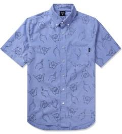 Primitive Blue HLFU S/S Woven Shirt Picutre