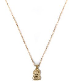 Mister Gold Mr. Micro Jesus Piece Necklace Picutre