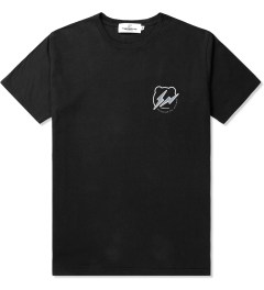 Medicom Toy Black/White BE@RTEE x fragment design T-Shirt Picutre