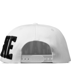 Stampd White Champagne Hat Model Picutre