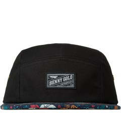 Benny Gold Navy Dolores Floral Bill 5 Panel Hat Picutre