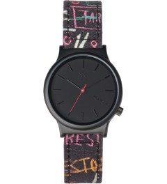 KOMONO KOMONO X JEAN-MICHEL Museum Security Wizard Basquiat Series Watch Picutre