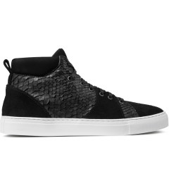 Diemme Black Python Parioli Shoes Picutre