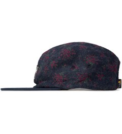 The Hundreds Navy Flores 5-Panel Model Picutre