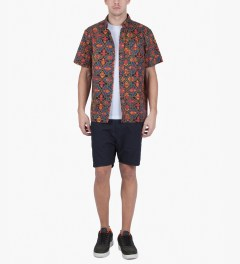 10.Deep Alhambra DVSN One Up Button Down S/S Shirt Model Picutre