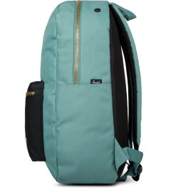 Herschel Supply Co. Seafoam/Black Settlement Backpack Model Picutre