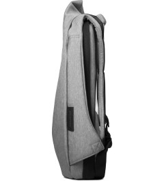 "Côte&Ciel Grey Melange 13"" Laptop Rucksack Model Picutre"