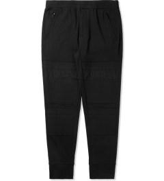 3.1 Phillip Lim Black Combo Front Panel Slim Lounge Pants Picutre