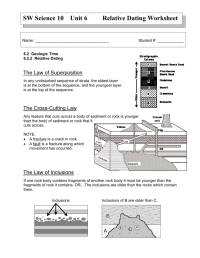 Worksheets. Law Of Superposition Worksheet. waytoohuman ...