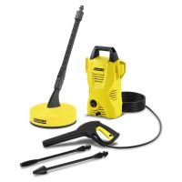 Karcher Pressure Washer with T50 Patio Cleaner   IWOOT