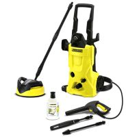 Karcher - K4 Home Pressure Washer with T250 Patio Cleaner ...
