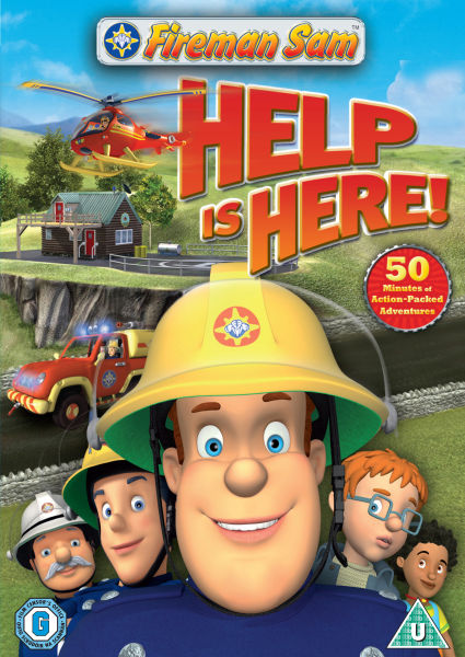 Fireman Sam 3d Wallpaper Fireman Sam Help Is Here Dvd Zavvi