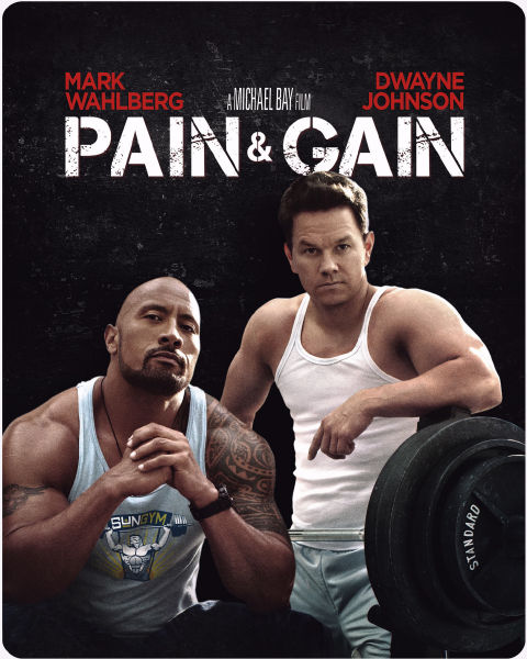 Custom Photo Wallpaper 3d Pain And Gain Zavvi Exclusive Limited Edition Steelbook