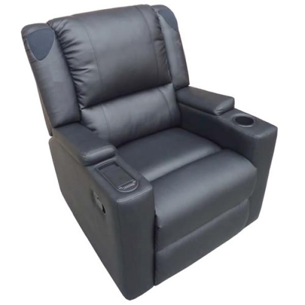 X Rocker Multimedia Leather Recliner Games Zavvicom