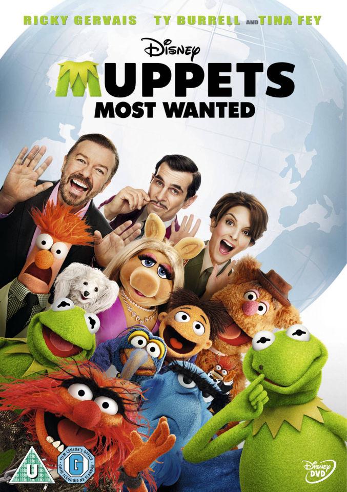 Cheap 3d Wallpaper Uk Muppets Most Wanted Dvd Zavvi