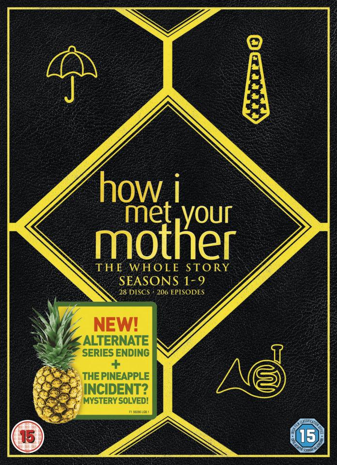 3d Wallpaper Uk How I Met Your Mother Seasons 1 9 Box Set Dvd Zavvi Com