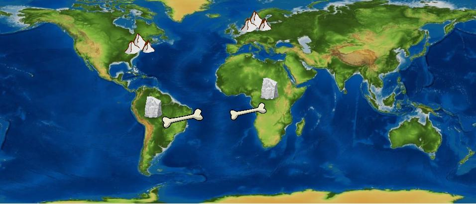 Evidence of understanding- Continental Drift Theory By Namya - ThingLink