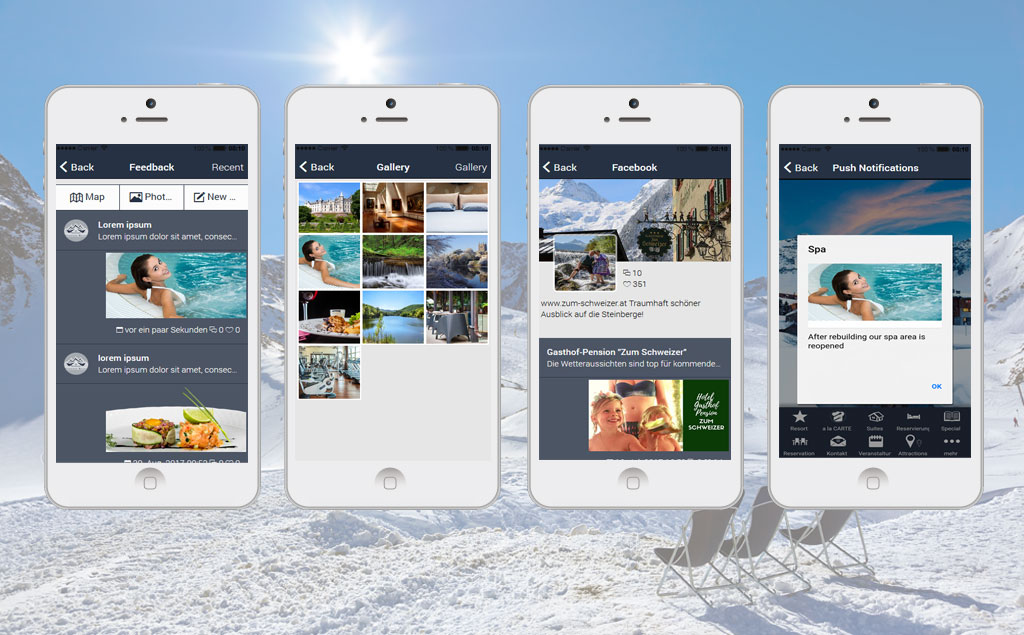 Hotel  Restaurant App Reservation and Room Booking App Template - booking app