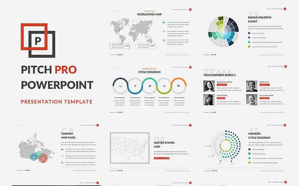 A Free for Business PowerPoint Template #66025