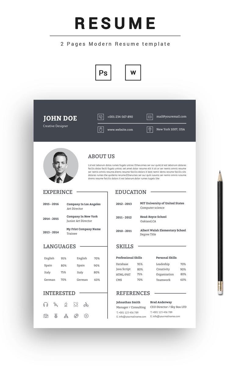 resume template monster