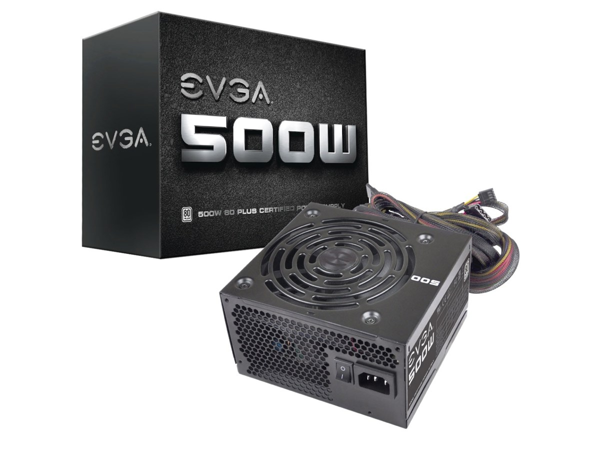 500 Watt Evga Power Supply 500 Watt