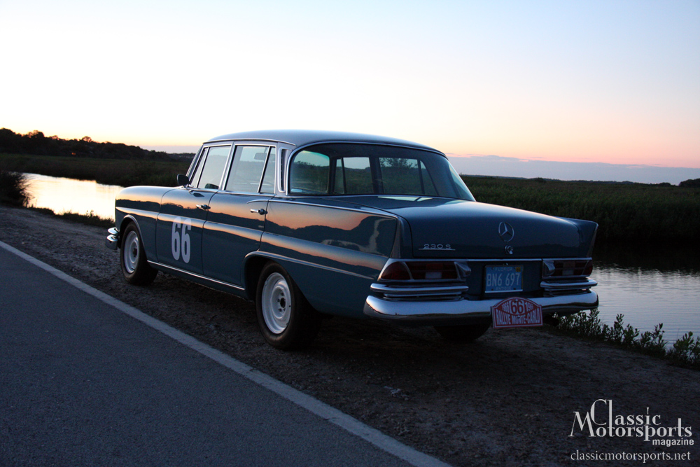 Ready to Rally Mercedes-Benz 230 S Project Car Updates Classic