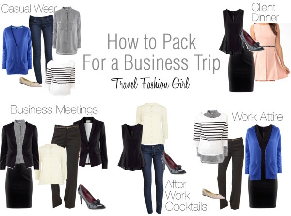 Business Trip Packing List for Minimalist Fashionistas - Business Trip Packing List