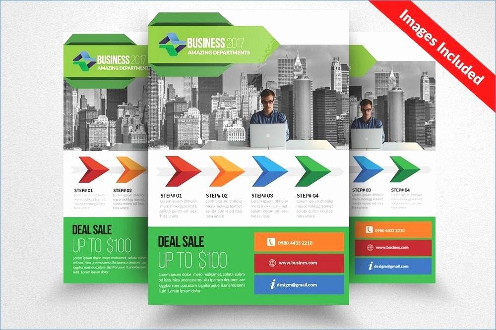 Sales Flyer Design Inspiration