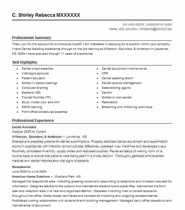 Corporate Receptionist Cv Sample Uk