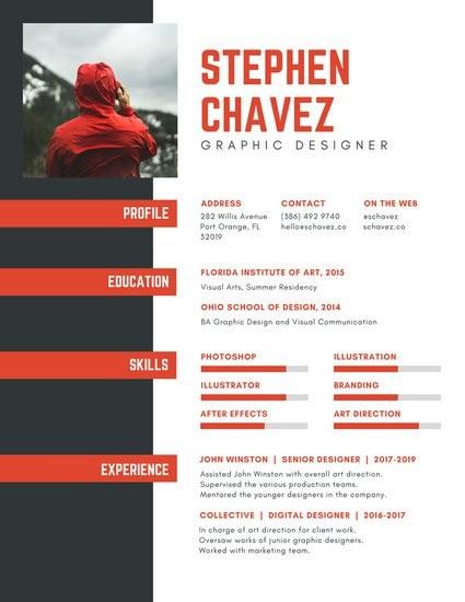 Junior Graphic Designer Cv