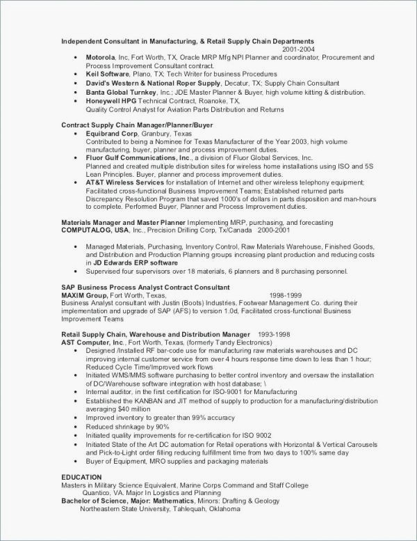 38 Modern Cv Template for Engineers