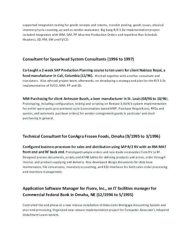 60 Professional Cv Sample Australia
