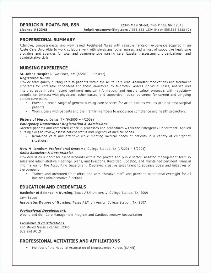 60 Professional Cv Sample Australia