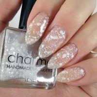 WHITEHALL - Handmade Indie Sheer White Jelly Glitter ...
