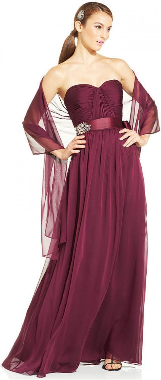 strapless dress shawls