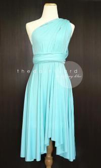 Tiffany Blue Bridesmaid Convertible Dress Infinity Dress ...