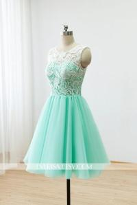 Green Short Bridesmaid Dresses - Junoir Bridesmaid Dresses