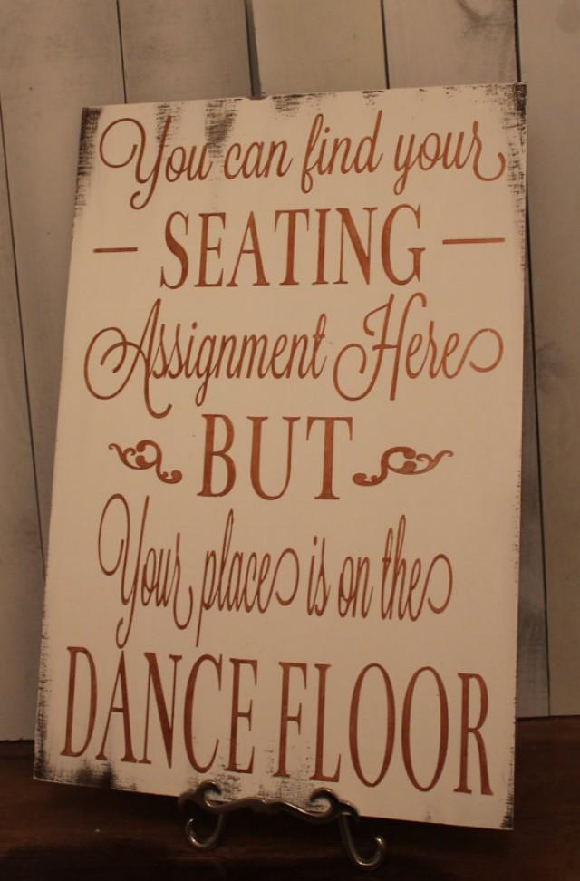 no seating chart for wedding sign hgvi