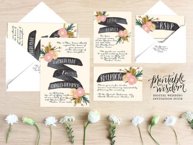 diy vintage rustic wedding invitations - 28 images - vintage world