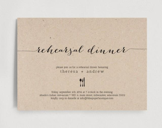 wedding dinner invitation template - 28 images - rehearsal dinner - dinner invitation template free