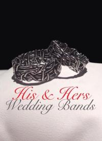 CROWN OF THORNS, His And Hers Wedding Rings, Religious ...