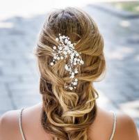 Pearls Hair Piece, Pearls Vine Hair Piece, Bridal Hair ...