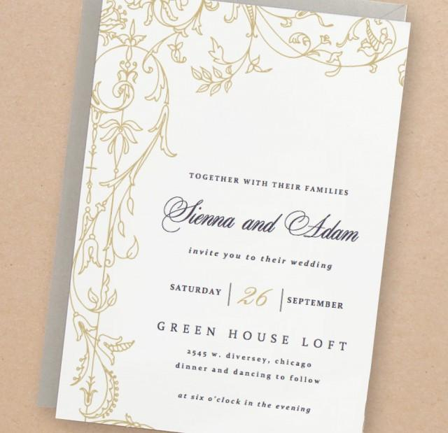 Einladung - Printable Wedding Invitation Template #2505959 - Weddbook