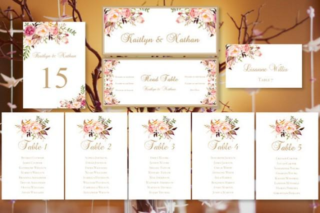 Wedding Seating Chart \