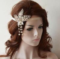 1920s Headpiece, Gatsby Headpiece, Gatsby Style Headband ...