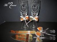 Mr. And Mrs. Toasting Flutes, Camo Wedding Toasting ...