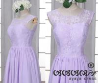 Lace Short Lavender Bridesmaid Dress,bridesmaid Dresses ...